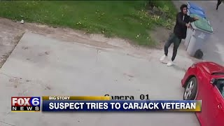 Shots fired as group attempted to carjack Vietnam veteran on Memorial Day