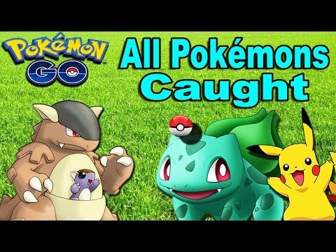 Pokémon GO - All Pokemon Caught!