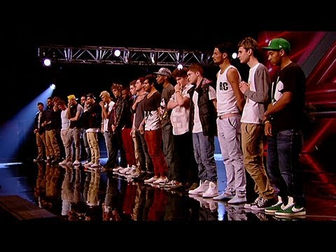 Boys Reveal - The X Factor UK 2012
