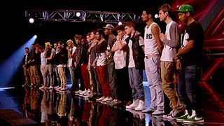 Boys Reveal - The X Factor UK 2012
