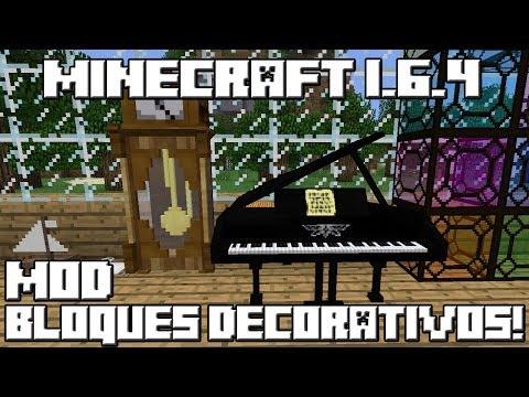 Minecraft 1 6 4 mod bloques decorativos asurekazani for Bloques decorativos