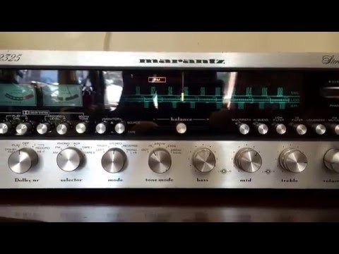 Testing of the Marantz 2325 Only viewing pleasure .