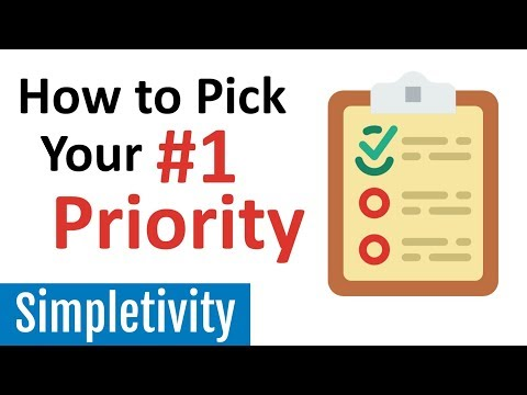 How to Find the #1 Priority on Your To-Do List
