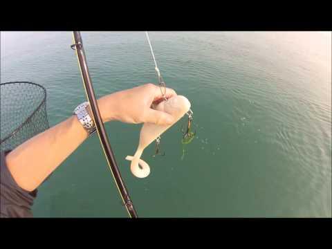 CASTING the Bondy 2.0 -  LAKE ST.CLAIR MUSKIE FISHING 2014