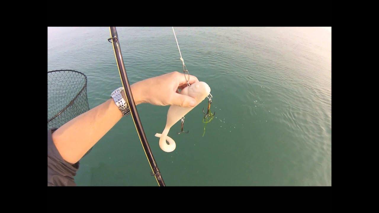 Casting the bondy 2 0 lake st clair muskie fishing 2014 for Lake st clair musky fishing
