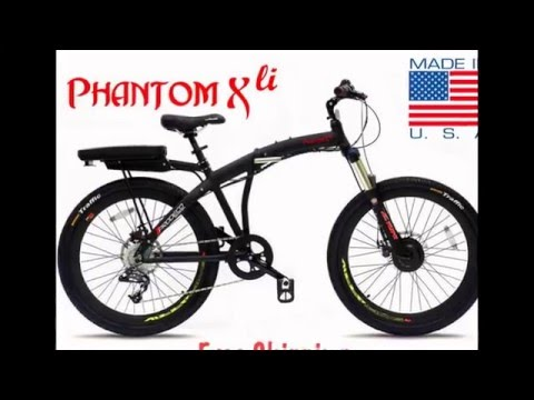 Electric Bikes Power & Convenience, Great Prices.  Made in USA