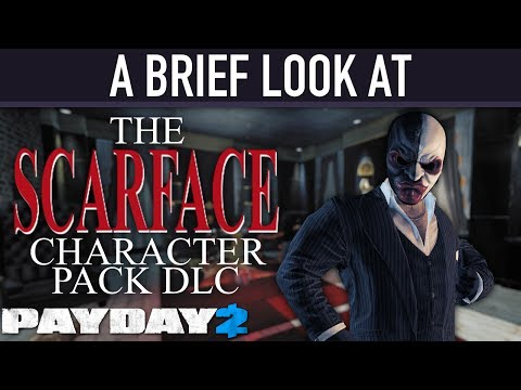 A brief look at The Scarface Character Pack DLC. [PAYDAY 2]