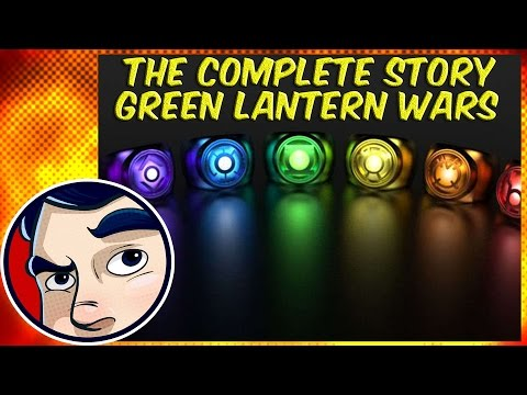 War of the Green Lanterns - Complete Story