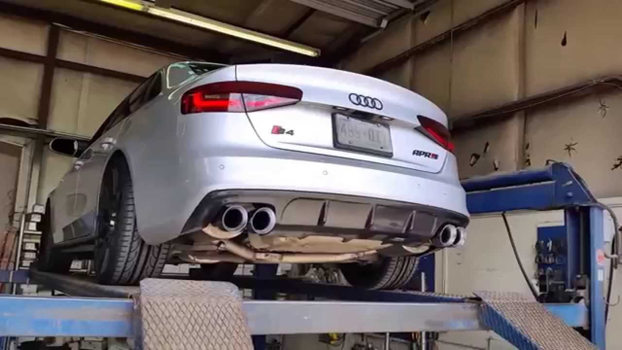 Audi s4 b85 with modified awe exhaust youtube publicscrutiny Gallery