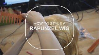 Arda Wigs Rapunzel Tutorial