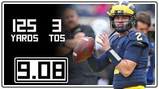 Shea Patterson Full Highlights Michigan vs Western Michigan || 9.08.18 || 125 Yards, 3 TDs