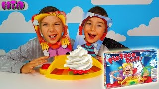 ✔ Игра Пирог в Лицо на двоих ✔ Pie Face Duell ✔ Pie Face Dual ✔ видео на русском ТОРТ В ЛИЦО 🍰