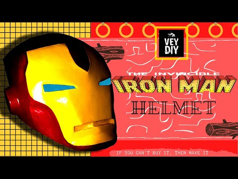 DIY Invincible Iron Man helmet