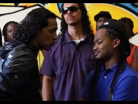 AHAT rap battle | Cali Smoov vs Ab Hogish | Los Angeles vs Stockton