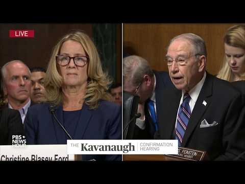 Sen. Grassley: 'I lament how this hearing has come about'