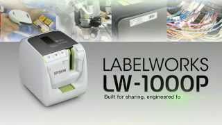 Epson's LabelWorks™ LW-1000P Thermal Wireless Printer