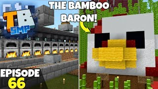 Truly Bedrock Episode 66! WORKING 64 Smelter & Bamboo Baron! Minecraft Bedrock Survival Let's Play!