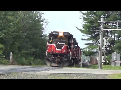 Amtrak MOWs and Providence and Worcester 02/Aug/17