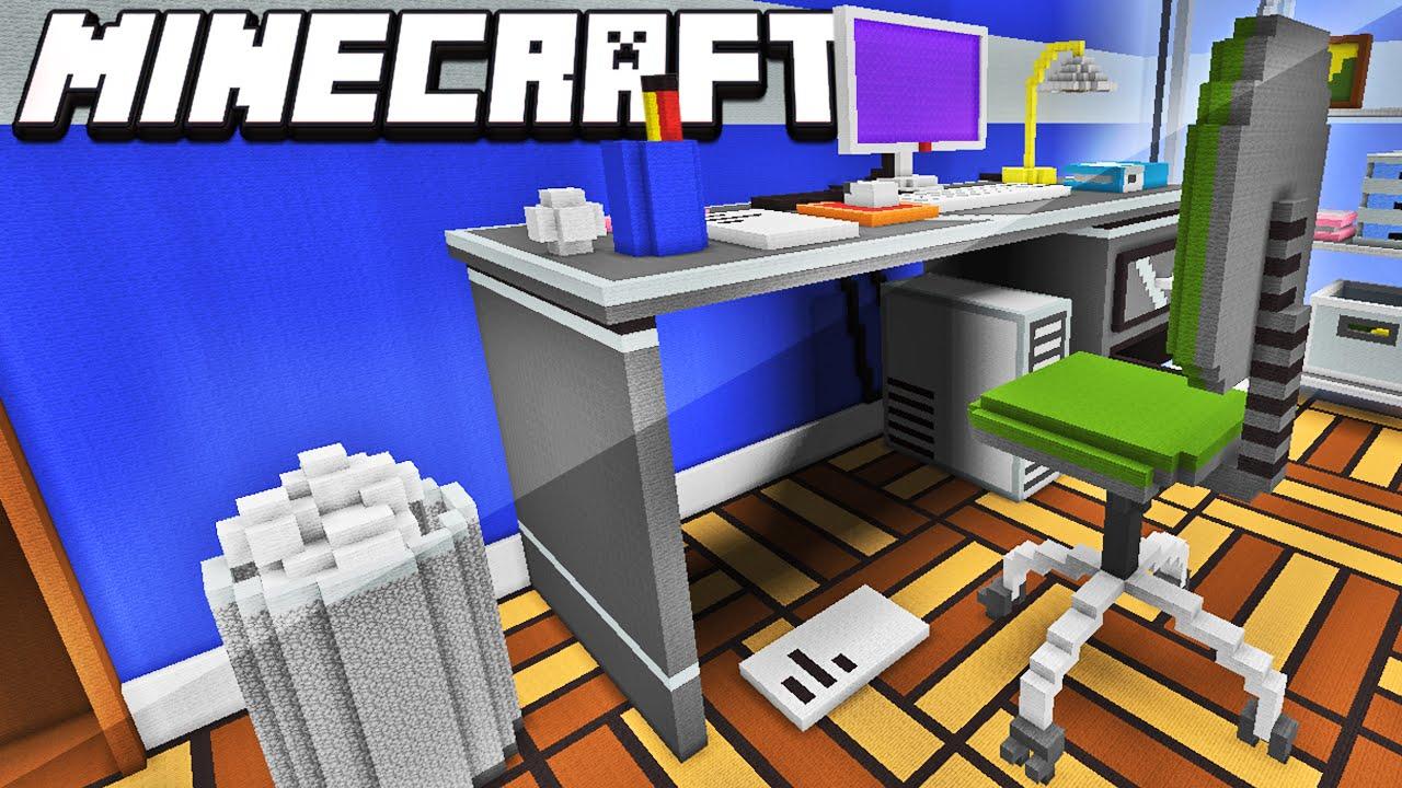 Minecraft casa em tamanho real youtube for Casa moderna gigante minecraft