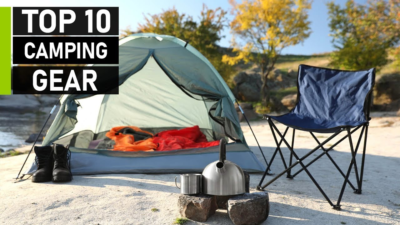 Top 10 Latest Camping Gear Inventions | Best Camping Gadgets - YouTube