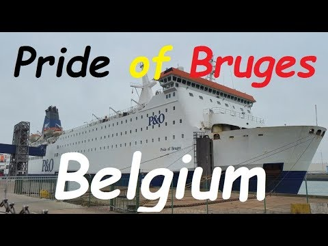 Belgium to England ferry trip on MS Pride of Bruges