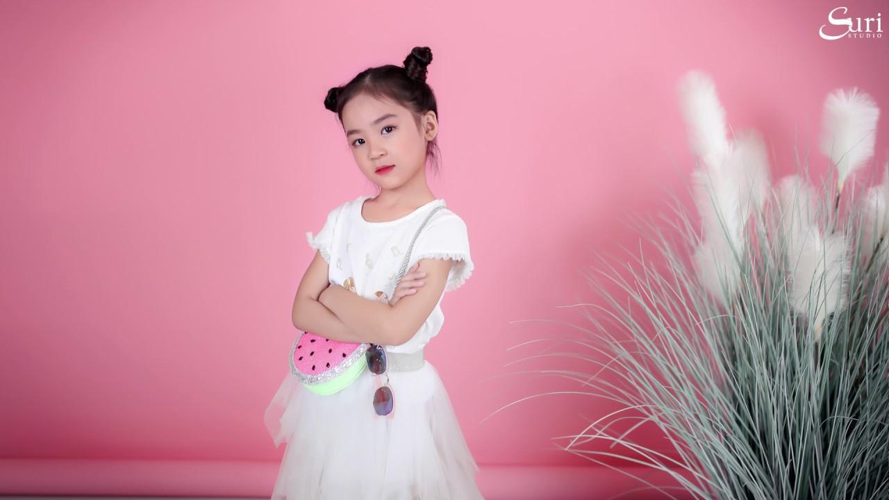 #15 | PINK CONCEPT FOR KID | Chụp ảnh trẻ em | Suri Studio