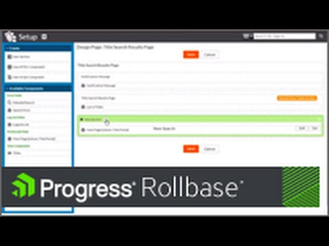 Creating a Public Web Portal for a Progress Rollbase Application