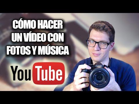 Cómo Hacer un Vídeo con Fotos y Música en Youtube Sin Programas