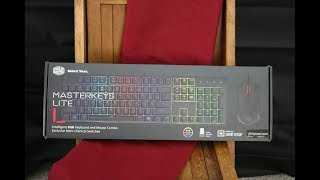 Cooler Master Masterkeys Lite Unboxing and Review