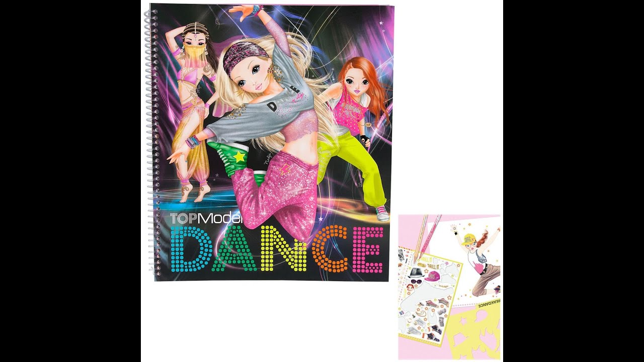 Mon cahier top model dance youtube - Cahier top model dessin ...