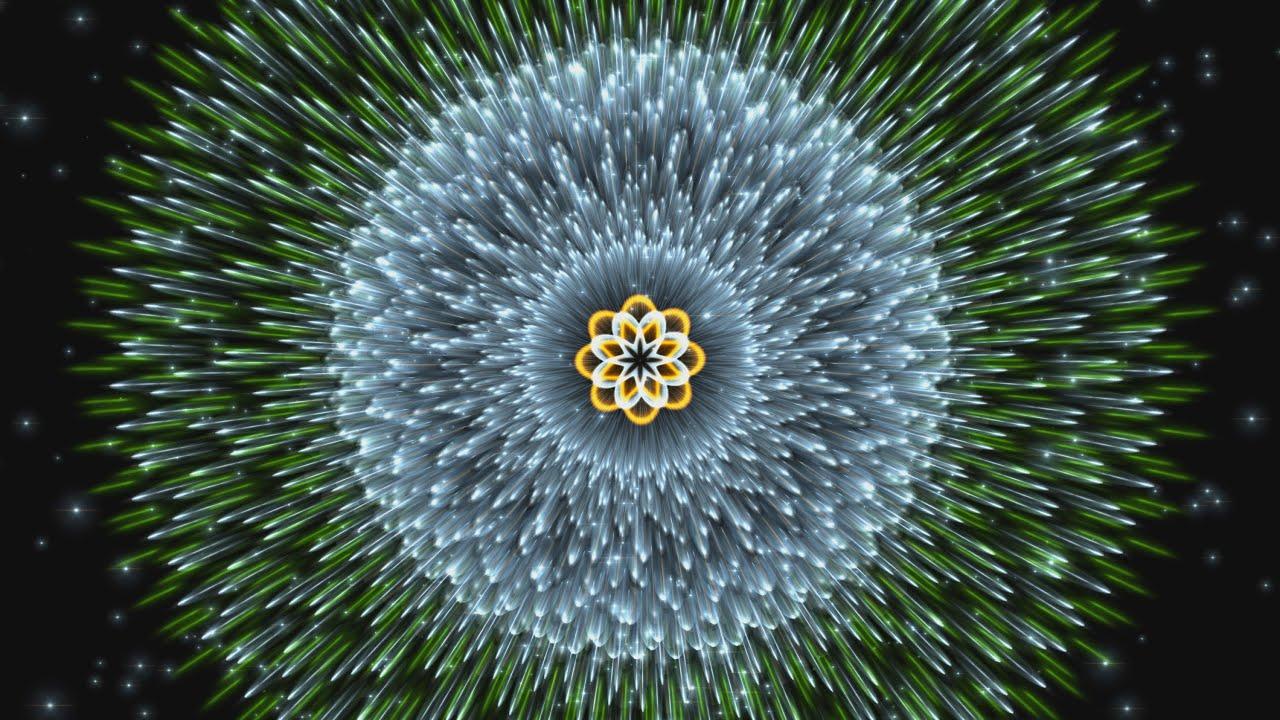 Moving Animation Wallpaper For Desktop 4k Hypnotic Wormhole Fractal Mandala 2160p Animation Youtube