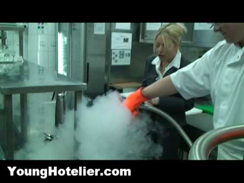 Restaurants - Cooking with Liquid Nitrogen in the Real World