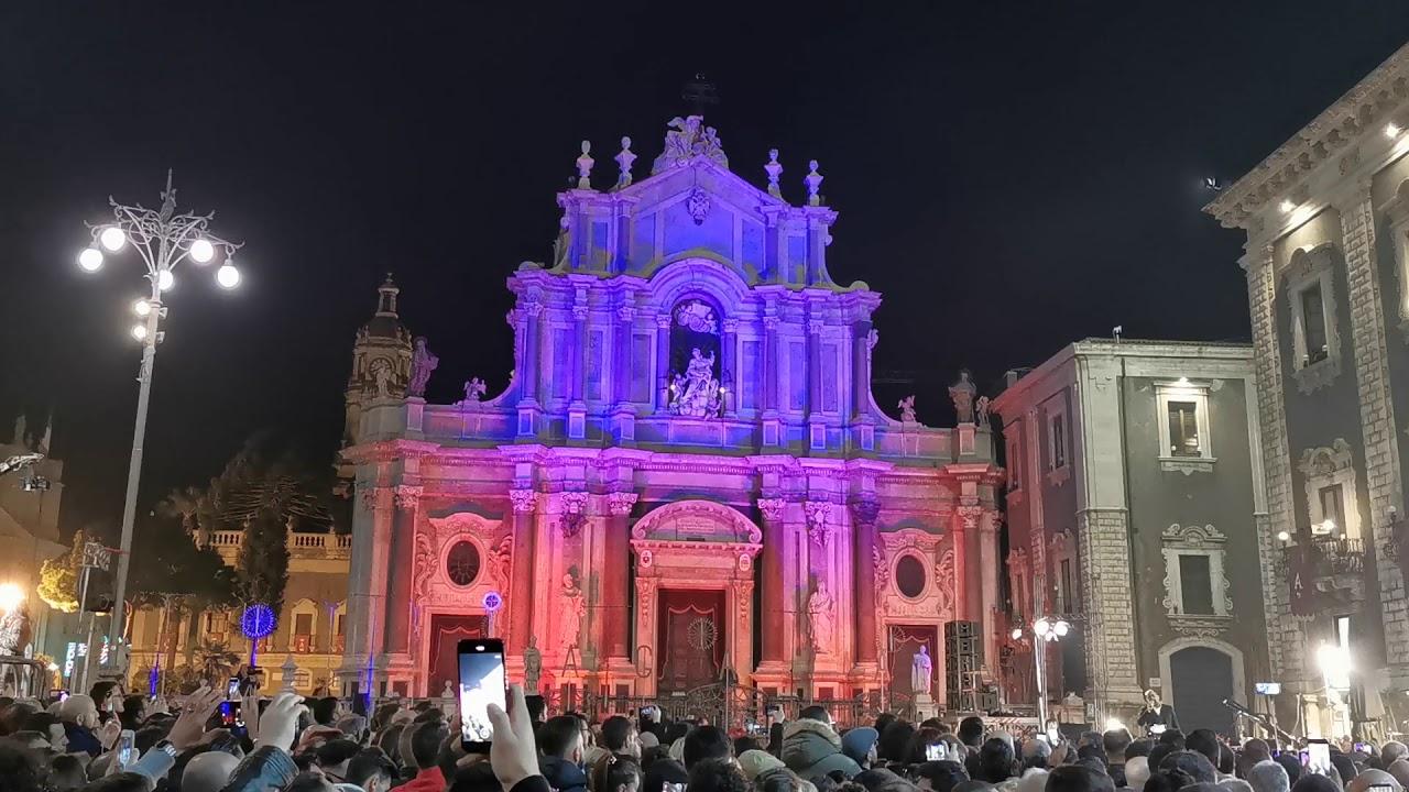 Festa di S. Agata 2020 - Catania L'inno a S. Agata di ...