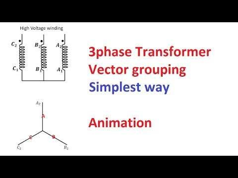 Vector grouping of a three phase transformer part 1 pisquare vector grouping of a three phase transformer part 1 pisquare academy ccuart Images