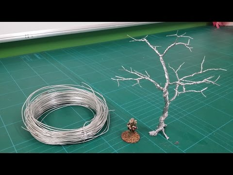 Realistic Scenic Trees - Wire Armatures (Twist technique)