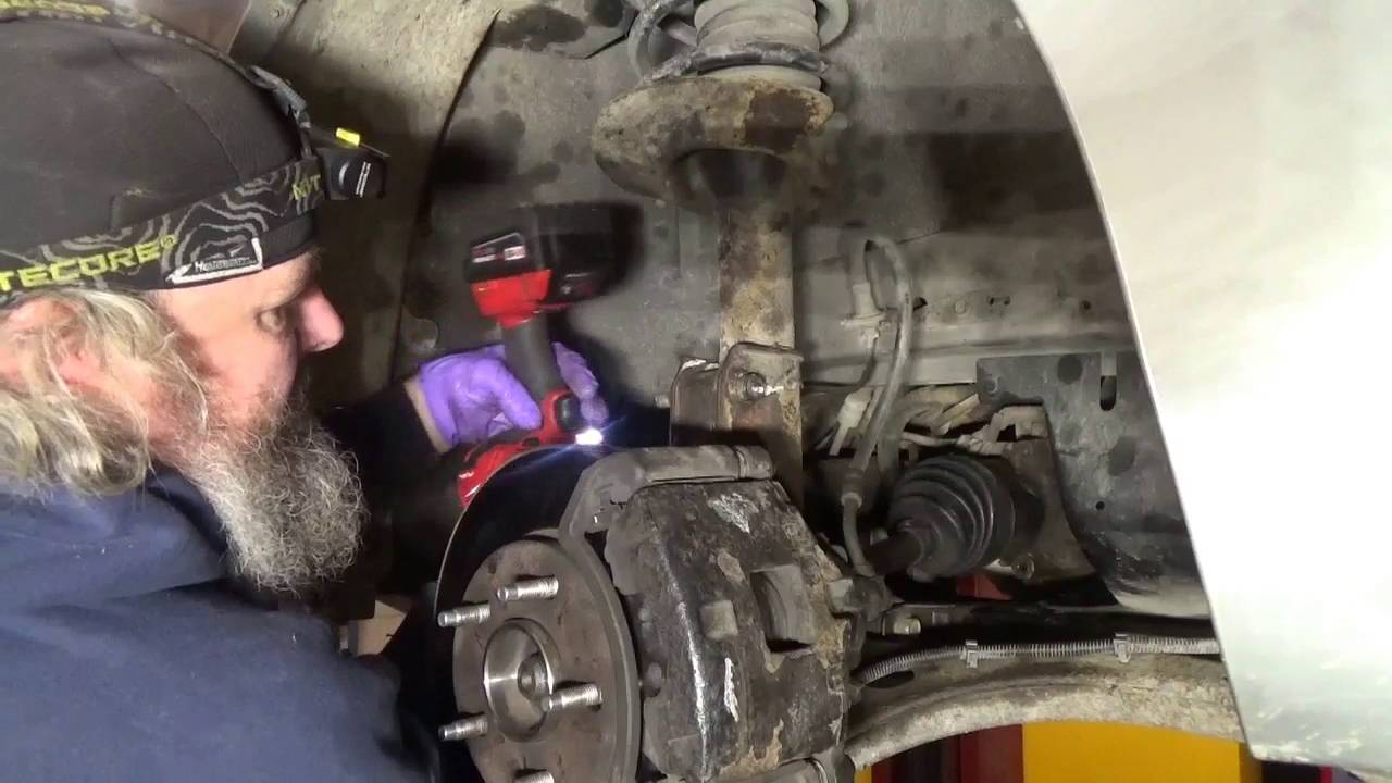 CV Axle / shaft replacement on GM 2001 Buick Century