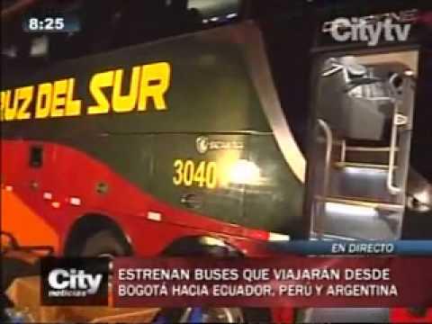 Estrenan Nuevo Buses Que Viajarán Desde Bogotá A Lima