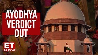 Ayodhya Verdict out: Ram Mandir will be constructed says Supreme Court