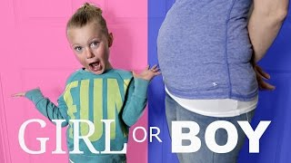 WE'RE HAVING A...!? | BABY GENDER PREDICTION