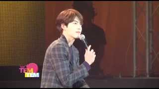 140405 Kim Woo Bin Fan Meeting in Thailand 'Love at First Sight'