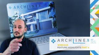 ARCHLine.XP 2021 Feature Highlights - Part 2