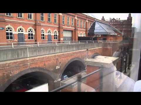 Media City UK to City Centre Manchester by TRAM