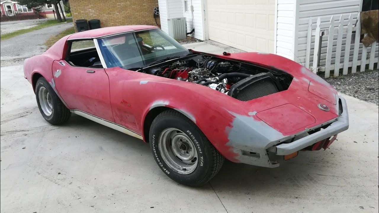 Eric's 1973 Stingray Corvette Project Part 2