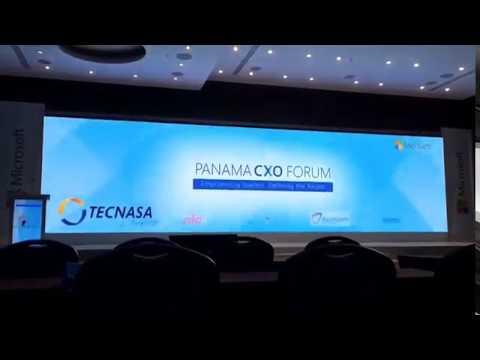 Microsoft CXO Forum Panama 2016 timelapse