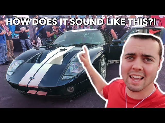 YOU WON'T BELIEVE WHAT THIS 2000HP+ FORD GT SOUNDS LIKE *Scary*