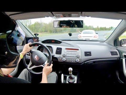 ON TRACK - 8 Gen Civic Si Race Car - Canaan Motor Club