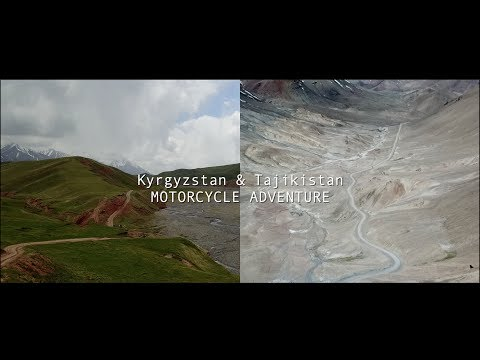 KYRGYZSTAN & TAJIKISTAN Motorcycle Adventure - FILM