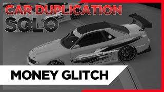 GTA 5 *SOLO* MEGA EASY! CAR DUPICATION - UNLIMITED MONEY!