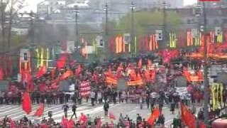 1 мая: Хроника празднования в Москве / May Day: chronicle
