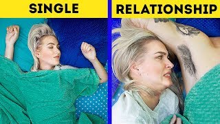 Single vs Relationship / 15 Funny Facts
